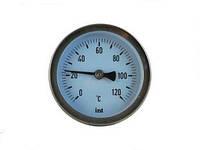 Биметаллические термометры Introl TB-063 L=45mm 0-120*С  1/2