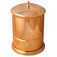 Ведро для мусора, 5 литров Alis Versace A231060, золото