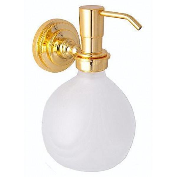 alis Дозатор для жидкого мыла настенный Alis Versace A231059, золото