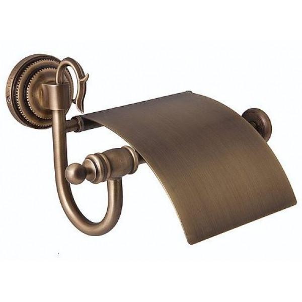 alis Держатель туалетной бумаги Alis Versace V001, бронза