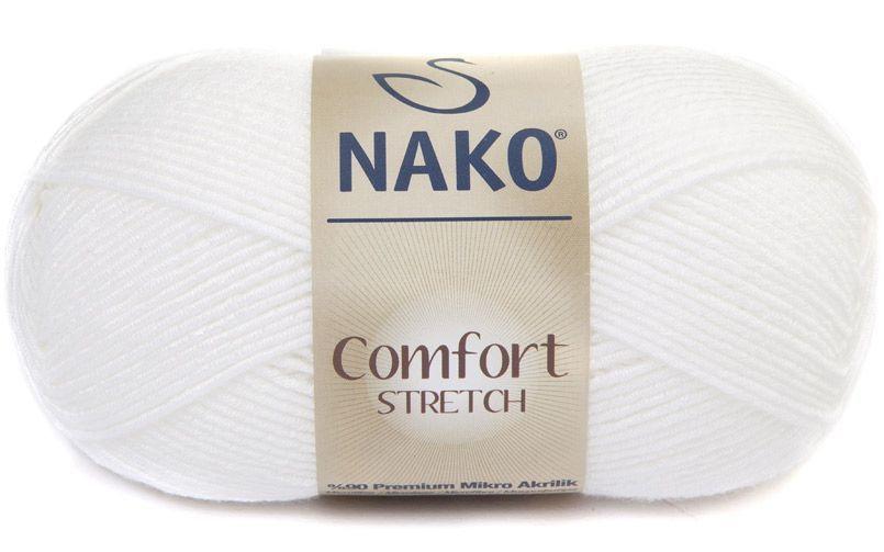 Комфорт стрейч Нако, № 208, белый