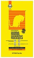 Nutra Nuggets (Нутра Нагетс) Сухой корм для взрослых кошек 7,5кг (желтая)