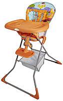 """Стульчик для кормления «Wonderkids» """"Lolo"""" цвет: оранжевый (WK30-L61-004)"""