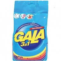 Стиральный порошок Gala автомат, для цветного, 3 кг