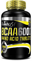 BCAA аминокислоты BioTech BCAA 6000 (100 таб)