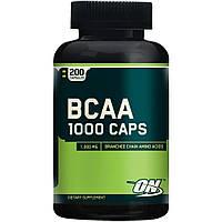 BCAA аминокислоты Optimum Nutrition BCAA 1000 (200 капс)
