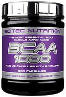 BCAA аминокислоты Scitec Nutrition BCAA 1000 (300 капс)