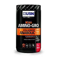 BCAA аминокислоты USN Nutrition BCAA Amino-Gro (306 г)