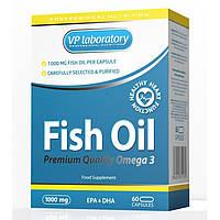 Комплекс незаменимых жирных кислот  VPLab Fish Oil Premium Quality Omega 3 (60 капс)