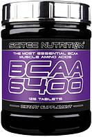 BCAA аминокислоты SciTec Nutrition BCAA 6400 (125 таб)