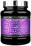 BCAA аминокислоты SciTec Nutrition BCAA 6400 (375 таб)