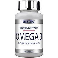 Комплекс незаменимых жирных кислот Scitec Essentials Omega 3 (100 капс)
