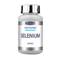 Антиоксидант селен дрожжевого происхождения Scitec Essentials Selenium (100 таб)
