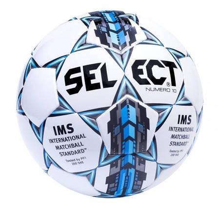 Мяч футбольный Select Numero10 IMS [5], фото 2