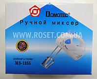 Ручной миксер кухонный - Domotec MS-1355 180W