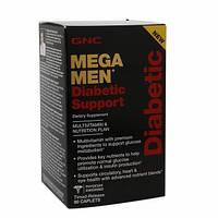 Витамины для мужчин с диабетом GNC Mega Men Diabetic Multi (90 капс)