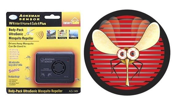 Отпугиватель комаров портативный Aokeman AO-149