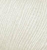 Пряжа зимняя Бэби вул Baby wool Alize, 599, слоновая кость