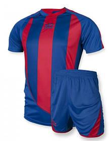 Футбольная форма Europaw 001 сине-красная S