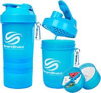 Шейкер SmartShake Original NEON Blue (600 мл)