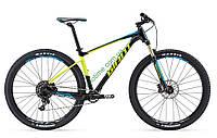 горный велосипед Giant Fathom 29er 1 2017 (M, черный- желтый)