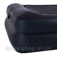 Надувная кровать со встроенным насосом intex 64124 (203х152х42) - фото 2