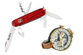 """Набор туриста """"Многофункциональный нож 0306+ компас TSC-3"""""""