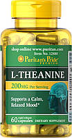 Аминокислоты Puritan's Pride L-Theanine 200 мг (30 капс)