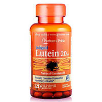 Препарат для поддержки органов зрения Puritan's Pride Lutein 20 мг with Zeaxanthin (30 капс)