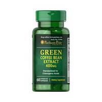 Жиросжигатель Puritan's Pride Green Coffee Bean Extract 400 мг (60 капс)