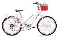городской велосипед Giant Liv Suede 1 26 2017 (S, белый-красный)