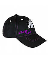 Женская бейсболка Gorilla Wear Lady Logo Cap (Black/Purple)