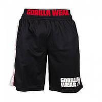 Шорты Gorilla wear California Mesh Shorts (Black/Red)