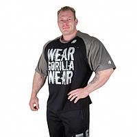 Футболка Gorilla wear Colorado Oversized T-Shirt (Black/Grey)