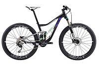 горный велосипед Giant Liv Pique 3 27,5 2017 (S, черный-серебристый)