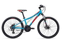 подростковый велосипед Giant XTC Jr 24 1 Disc 2017 (синий)