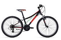 подростковый велосипед Giant XTC Jr 24 1 2017 (черный)