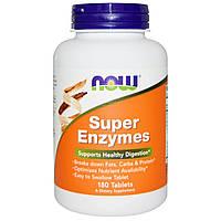 Сбалансированный комплекс ферментов и энзимов NOW Super Enzymes (180 таб)