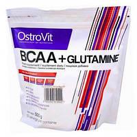 BCAA аминокислоты Ostrovit BCAA + L-Glutamine (500 г)