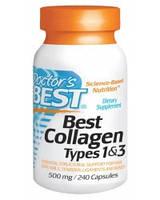 Препарат для восстановления суставов и связок Doctor's Best Collagen Types 1&3 500 мг (240 капс)