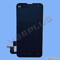 Дисплей (экран) Xiaomi Mi2 / Mi2s, черный, с сенсорным стеклом