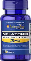 Снотворное Puritan's Pride Melatonin 3 мг (240 таб)