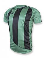 Футболка игровая Europaw 001 зелено-черная