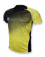 Футболка игровая Europaw 007 черно-желтая [M]