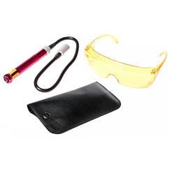 Ультрафиолетовый фонарь и очки для определения утечки фреона JTC 1445 JTC