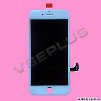 Дисплей (экран) Apple iPhone 7, белый, с сенсорным стеклом