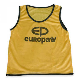 Манишка Europaw logo детская желтая [YM]