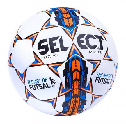 Мяч футзальный Select Futsal Master белый [4], фото 2