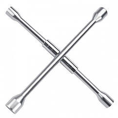 Ключ баллонный крестовой 17,19,21,22 складной Toptul AEAQ2214