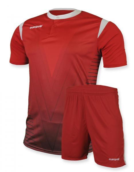 Футбольная форма Europaw 011 красная